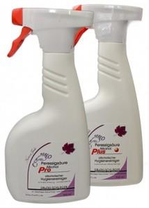 PES Pro & PES Plus Sprühdesinfektion